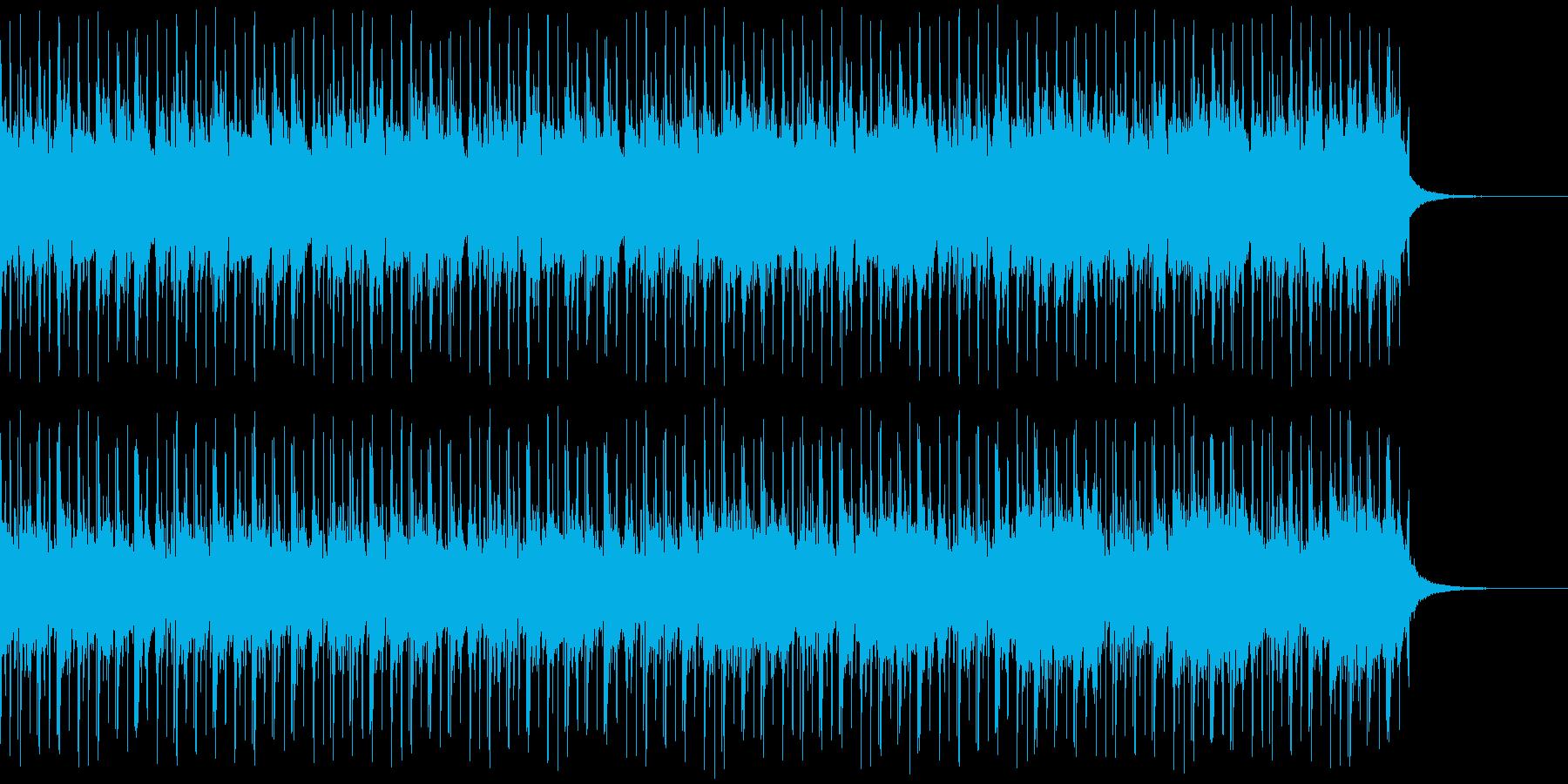 心の覚醒をイメージした1曲の再生済みの波形