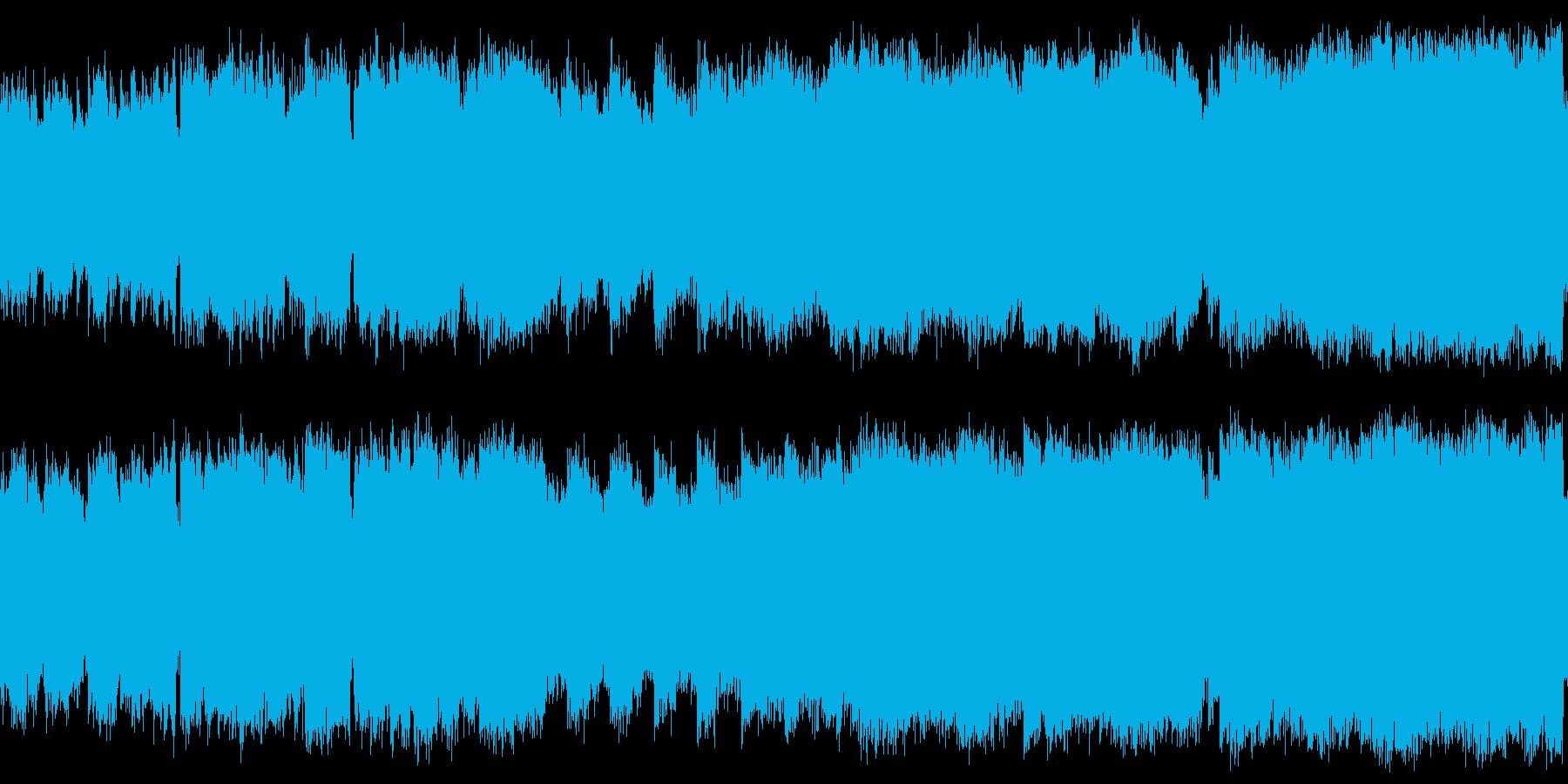 ファンタジーゲームを想定した明るくワク…の再生済みの波形