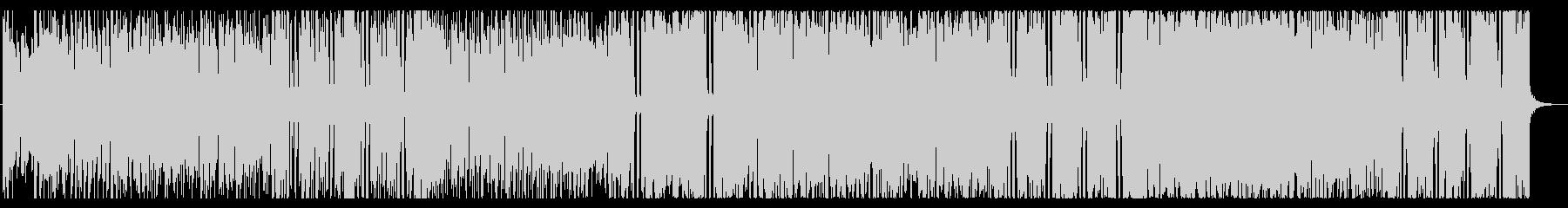 ドワーフをイメージしたほのぼのした楽曲の未再生の波形