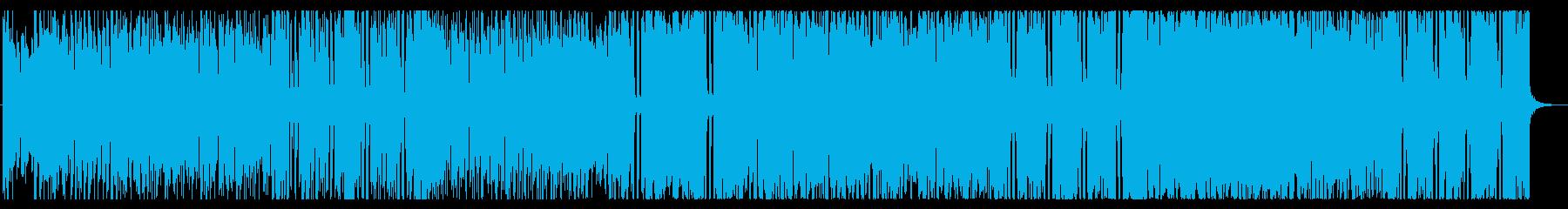 ドワーフをイメージしたほのぼのした楽曲の再生済みの波形