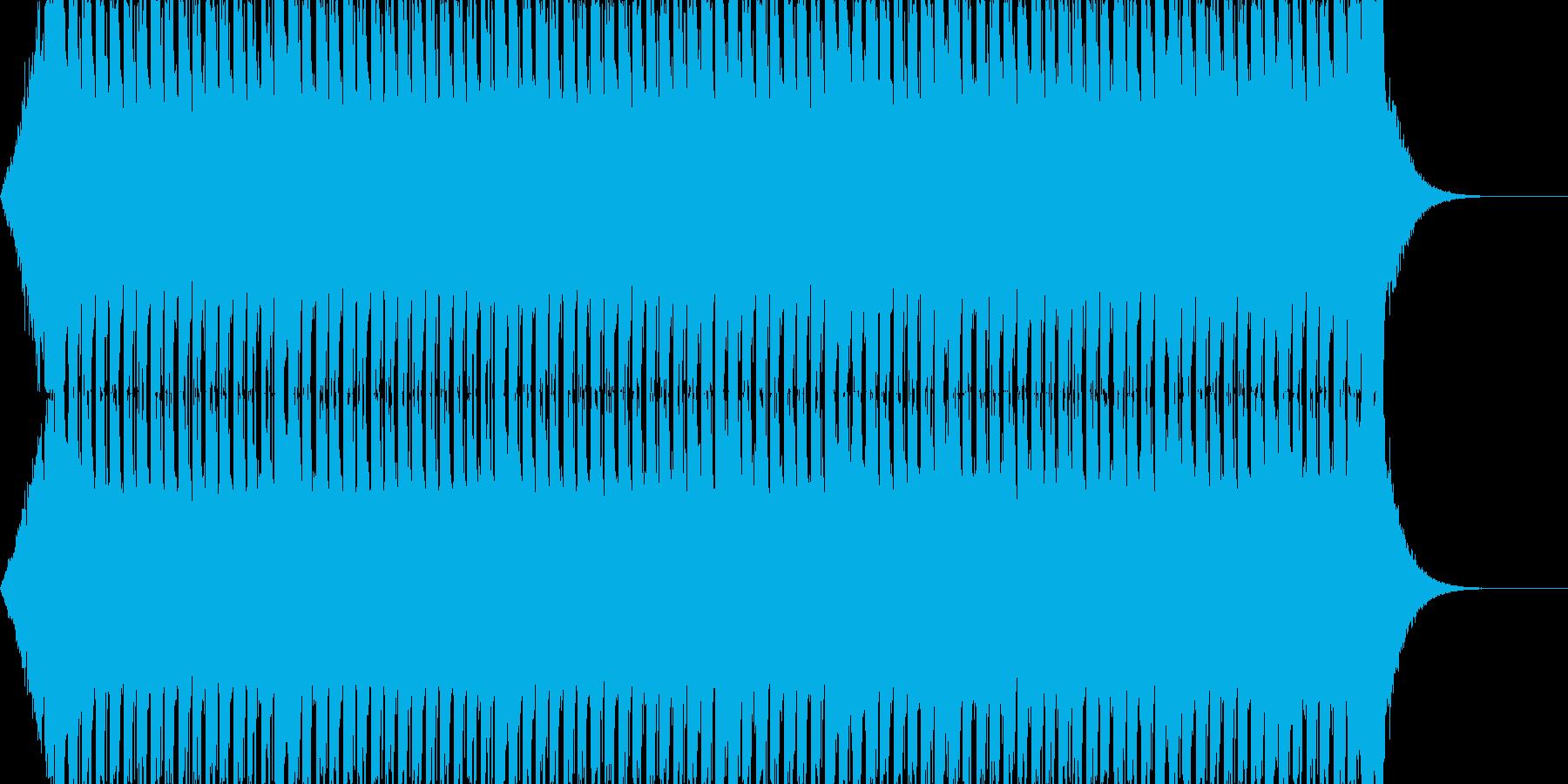 ぶっといベースが決め手のEDMの再生済みの波形