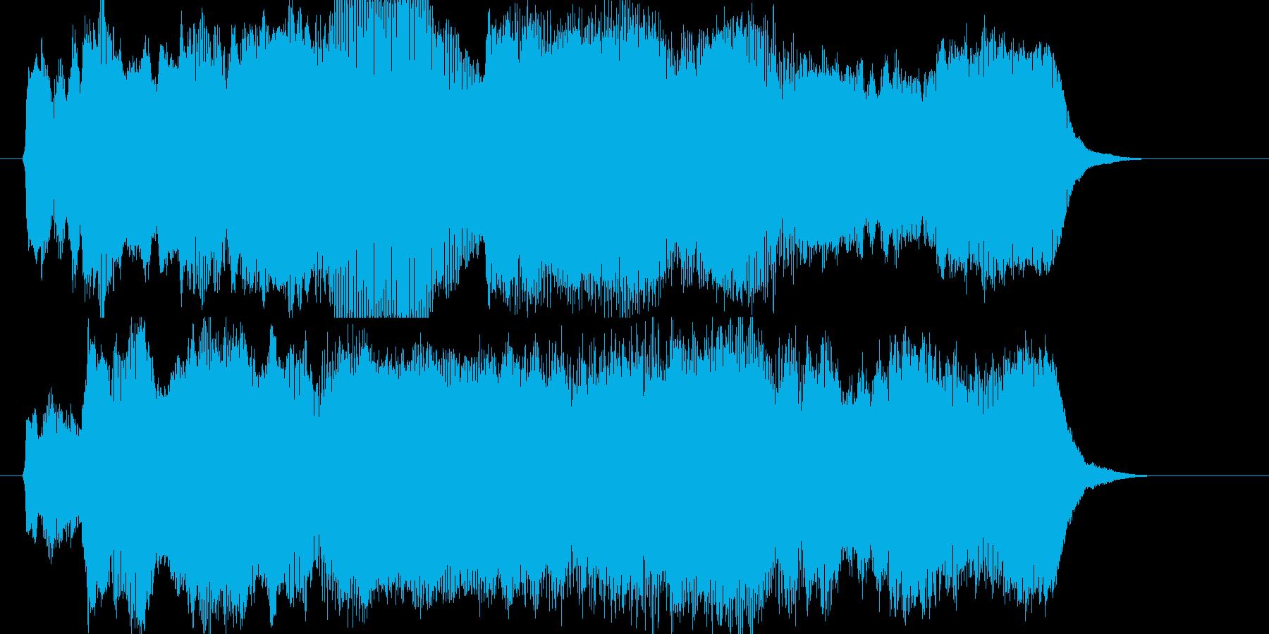 入場・オープニング・クイズ大会決勝の再生済みの波形