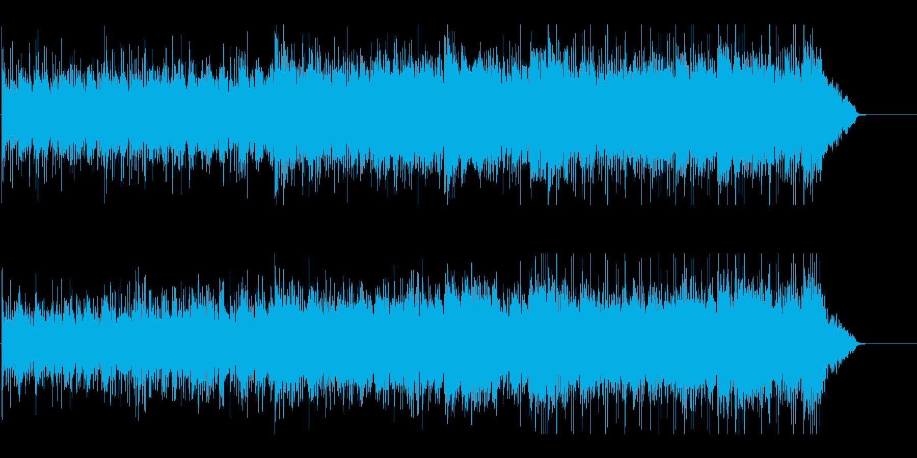 不穏で寂しげなワールドミュージックの再生済みの波形