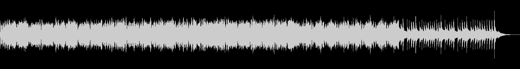 アコーディオンとオケのゆったり音楽の未再生の波形