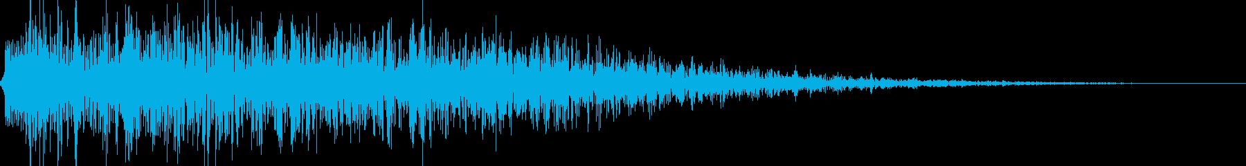 ロボット足音 タイプ16の再生済みの波形