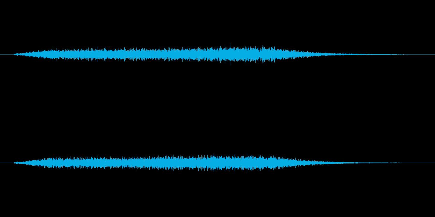 高めのほわーんとしたノイズです。の再生済みの波形