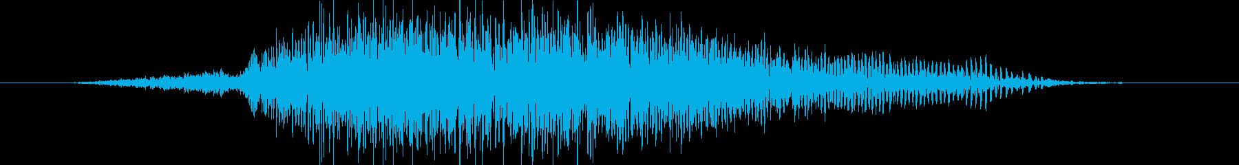 さー!(男女)和風掛け声 祭り の再生済みの波形