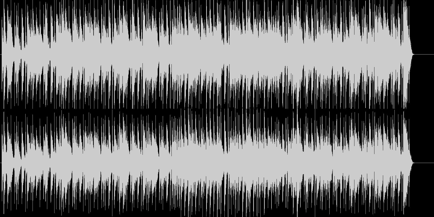 ワイルドで粗い感じのロックの未再生の波形
