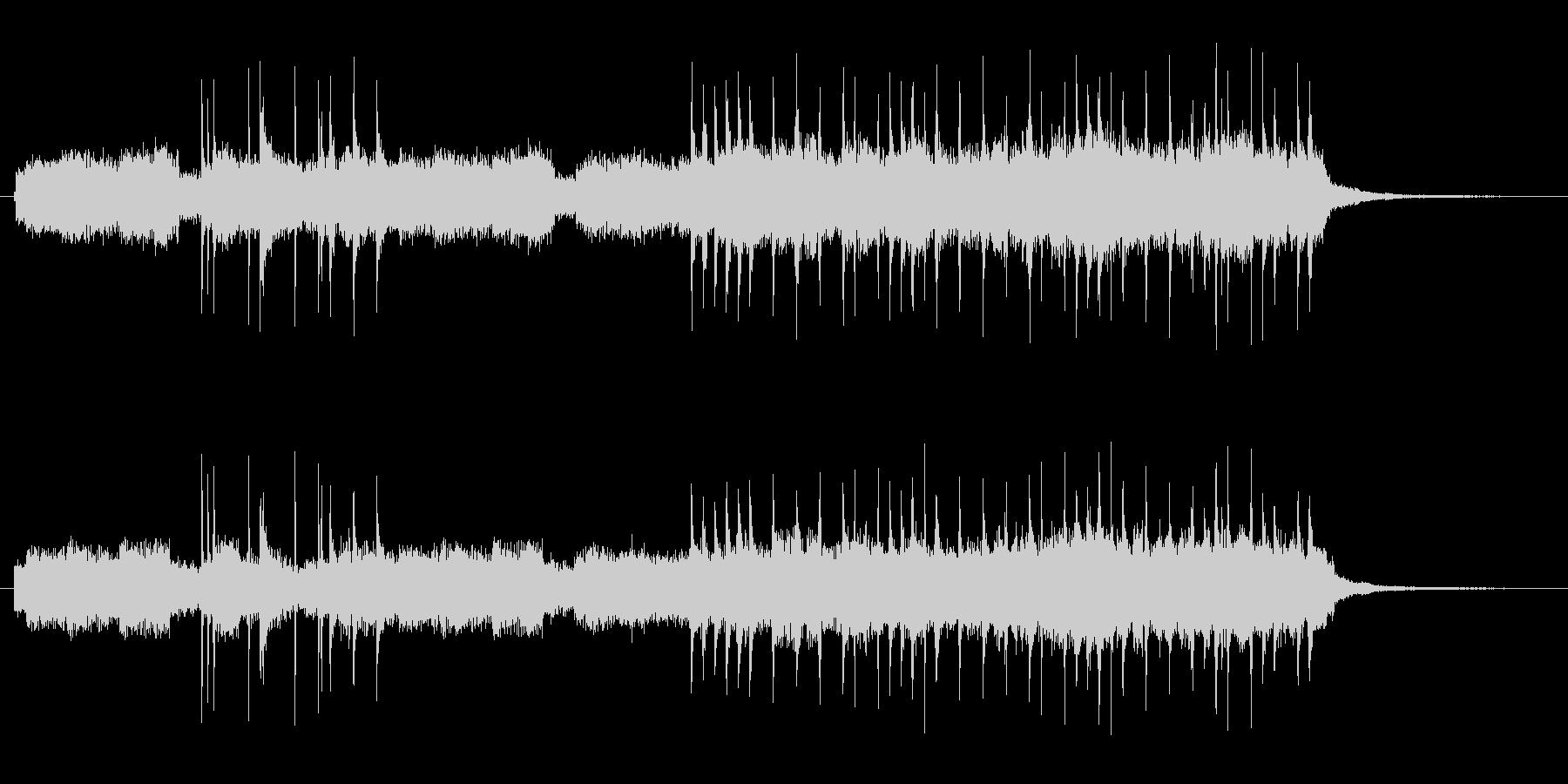 コードは線と路線の未再生の波形