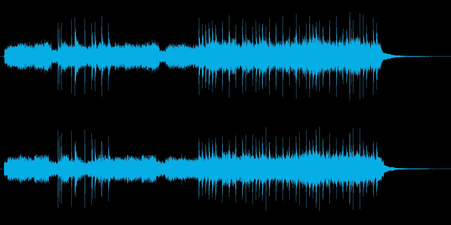 コードは線と路線の再生済みの波形