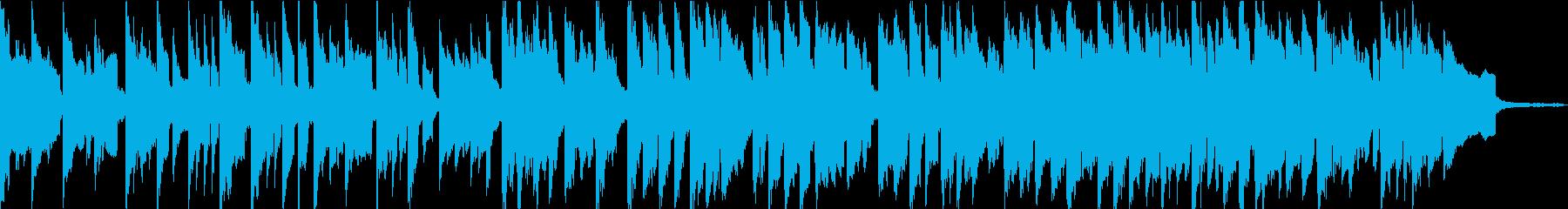 夏祭りにぴったしのほのぼの音楽の再生済みの波形