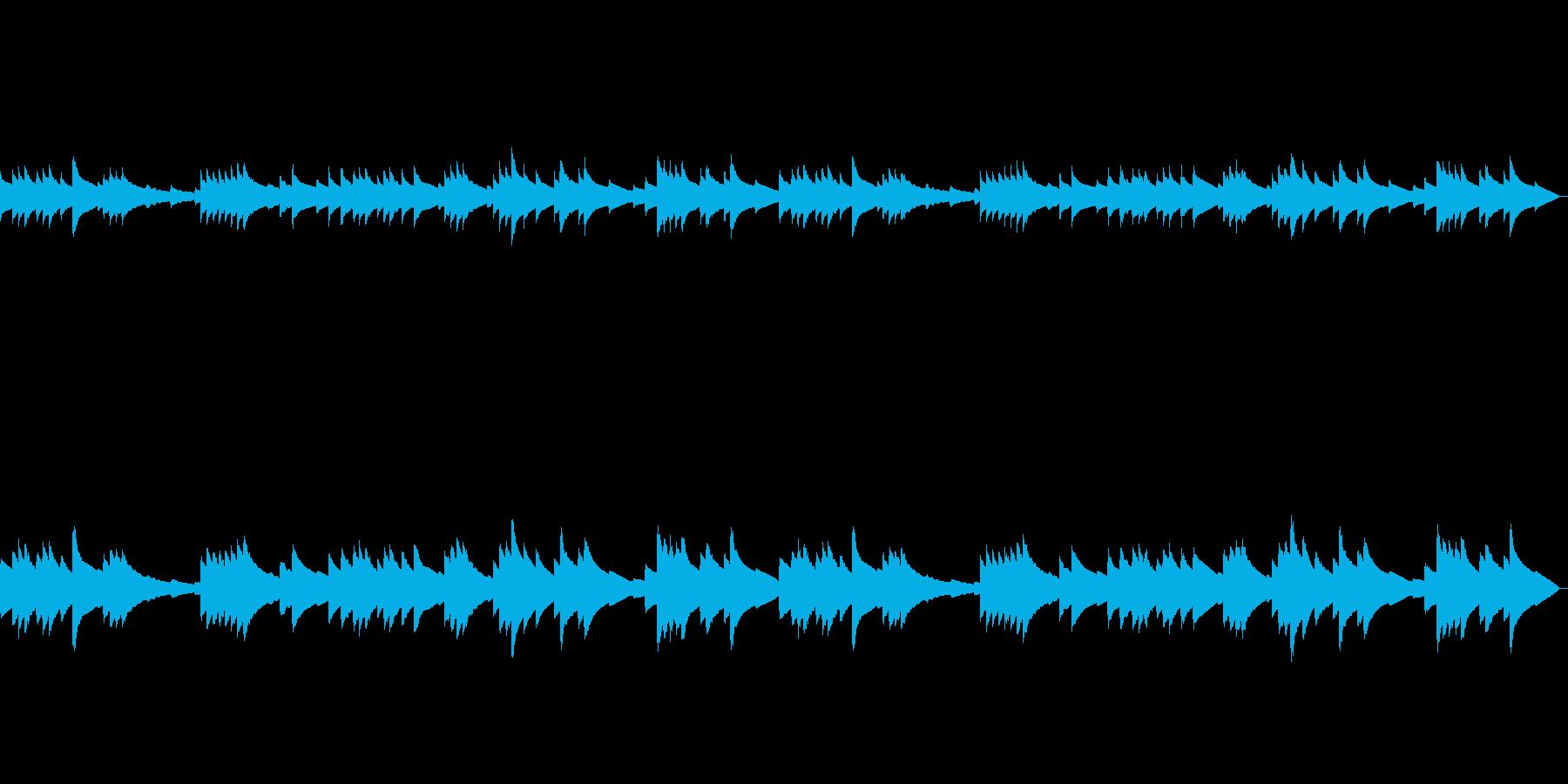 静かな森・まったり・神秘的・癒しのBGMの再生済みの波形