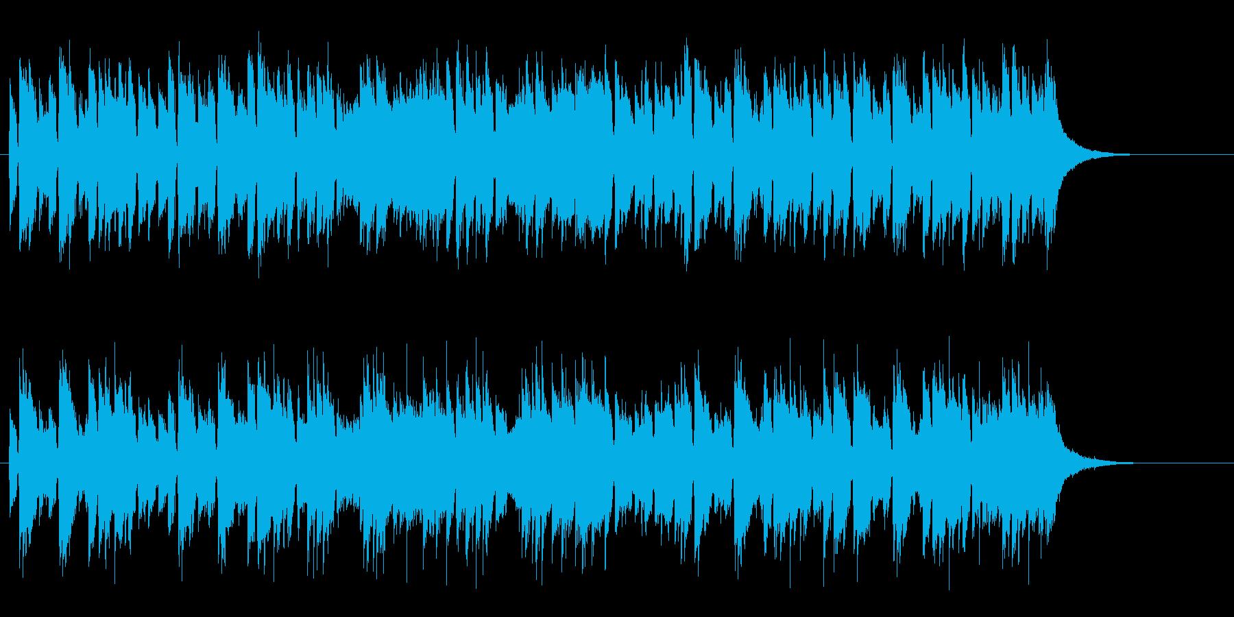 寂しげなアコースティックギターポップスの再生済みの波形