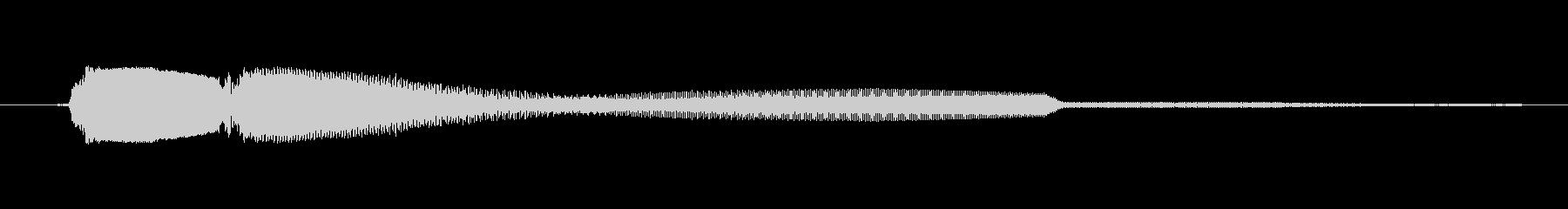 ゲーム、クイズ(ピンポン音)_003の未再生の波形
