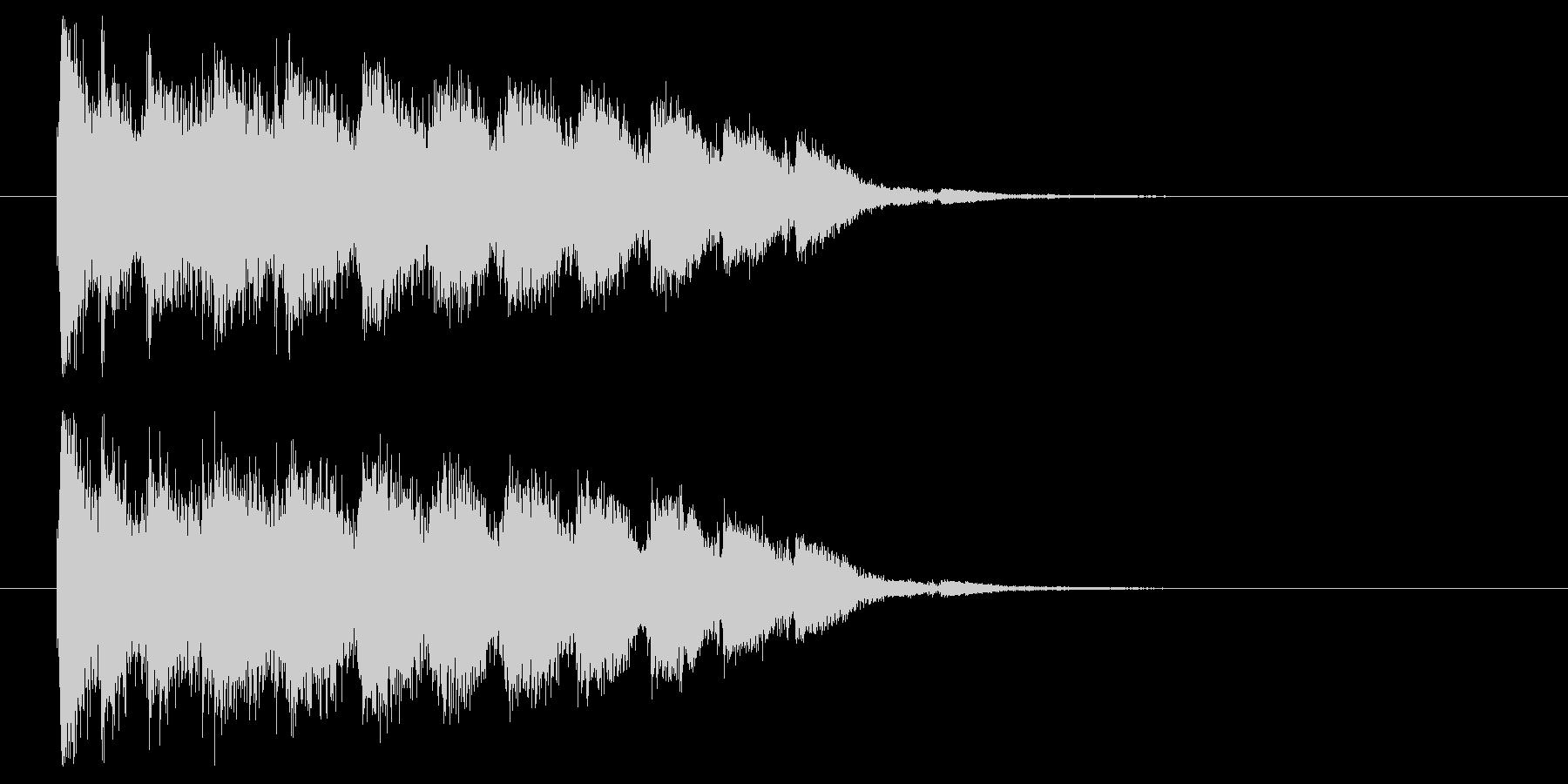 エネルギーチャージの未再生の波形