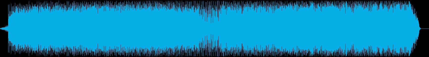 かっこいいエレクトロニカの再生済みの波形