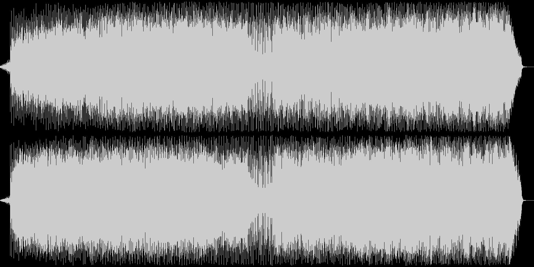 かっこいいエレクトロニカの未再生の波形
