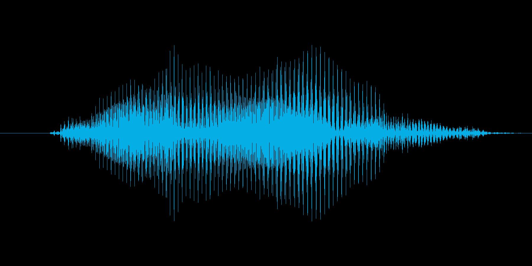 よっ!(Type-E)の再生済みの波形
