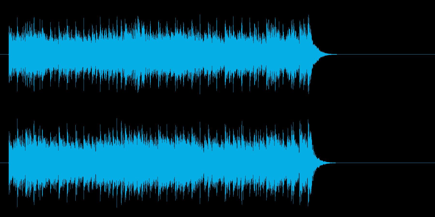 爽やかな歌謡曲風ポップス(サビ)の再生済みの波形