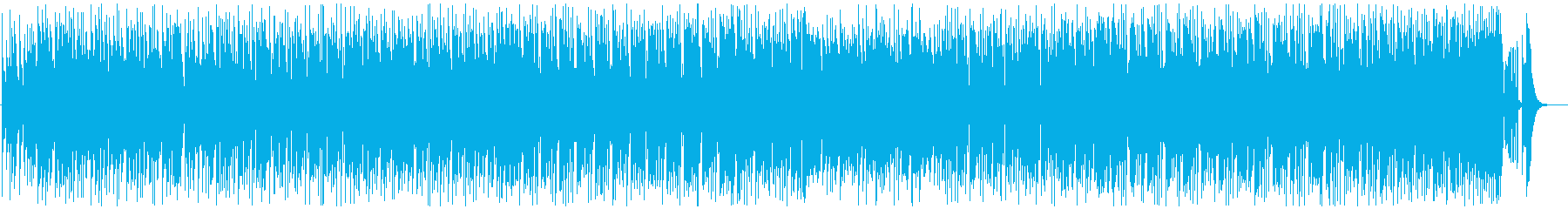 loop的音楽、Saxメロ、弾んで楽しいの再生済みの波形