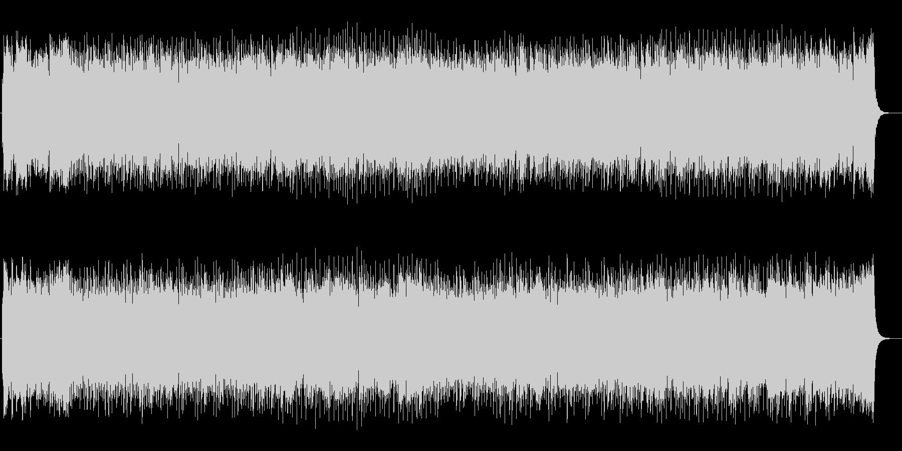 シンセサイザーのわくわくするポップスの未再生の波形