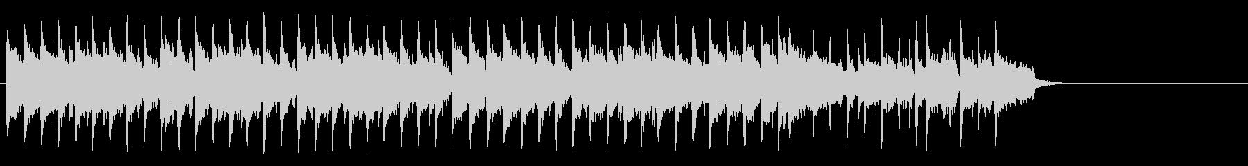 ブリティッシュなポップ(サビ~イント…)の未再生の波形