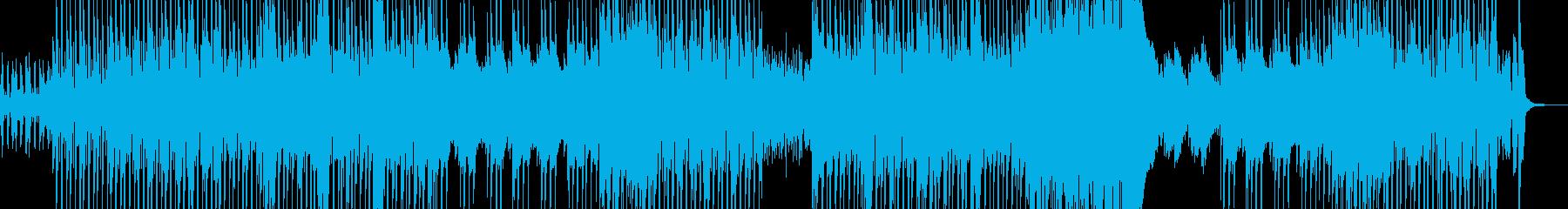 南の島とトロピカルなレゲトンの再生済みの波形