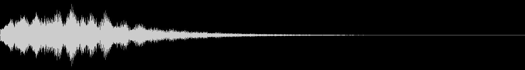 キラーン(星、光、魔法、テロップ等)04の未再生の波形