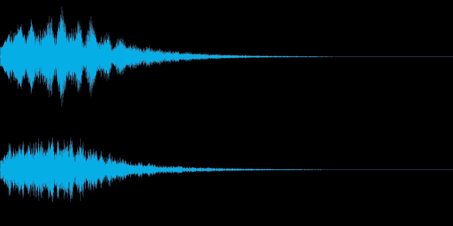 キラーン(星、光、魔法、テロップ等)04の再生済みの波形