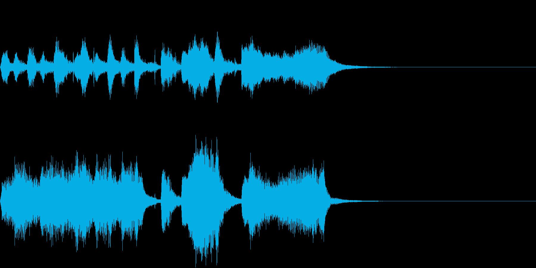 終止形~トルコ行進曲~の再生済みの波形