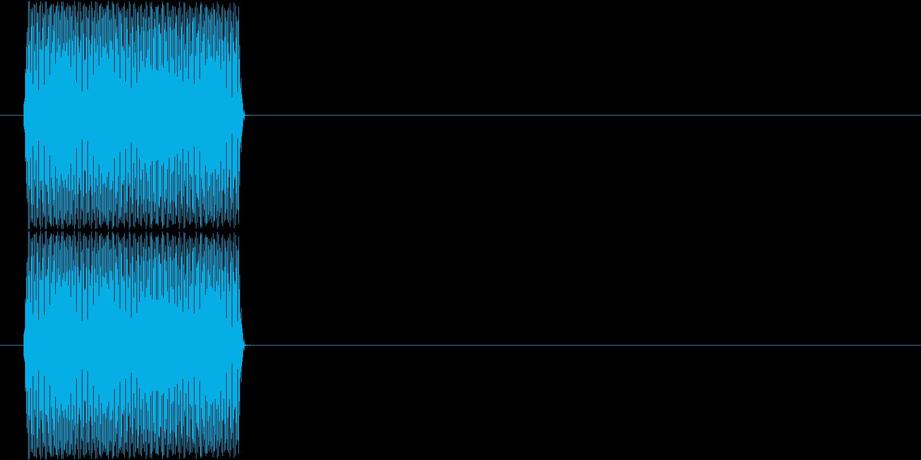 電話(ピッ、プッシュトーン、ボタン)の再生済みの波形