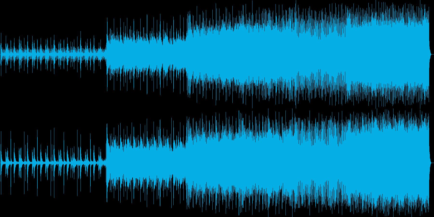 切なさのある和風テイストのバラードの再生済みの波形
