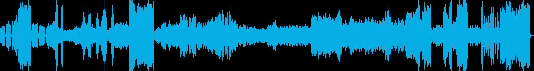バッハ・トッカータとフーガ(鼻から牛乳)の再生済みの波形