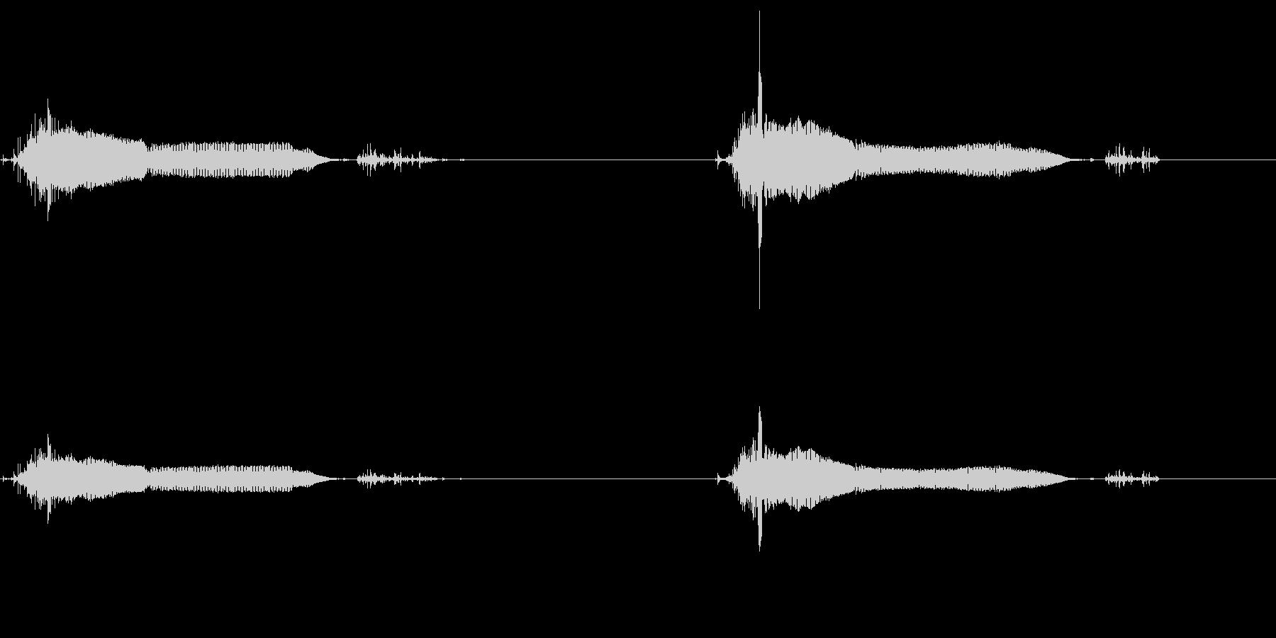 【SE 効果音】パブーパブーの未再生の波形