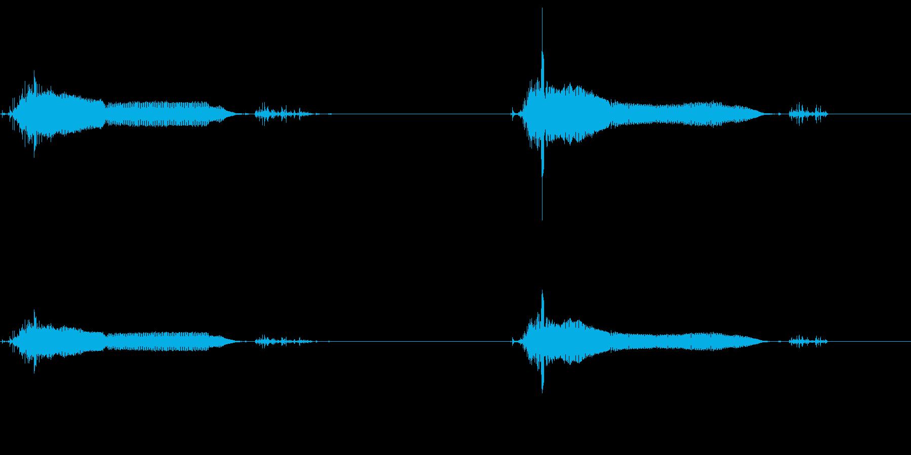 【SE 効果音】パブーパブーの再生済みの波形