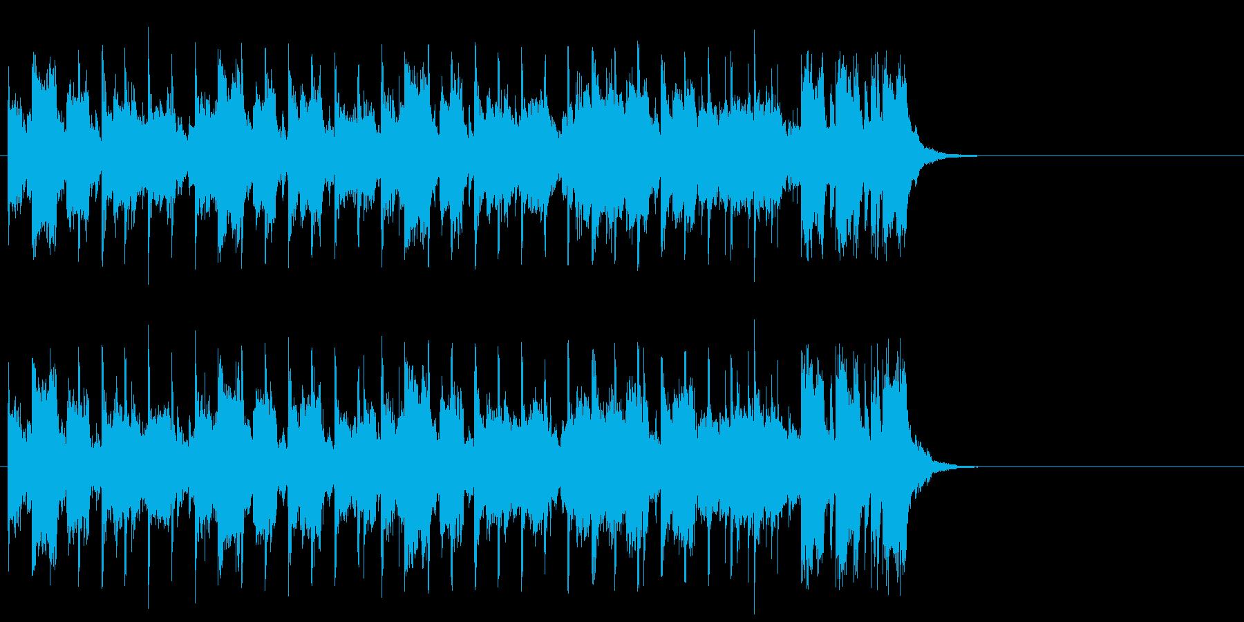 ダンサブルなポップ(サビ)の再生済みの波形