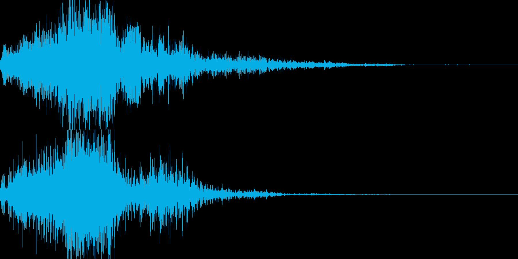 ジャンプの再生済みの波形
