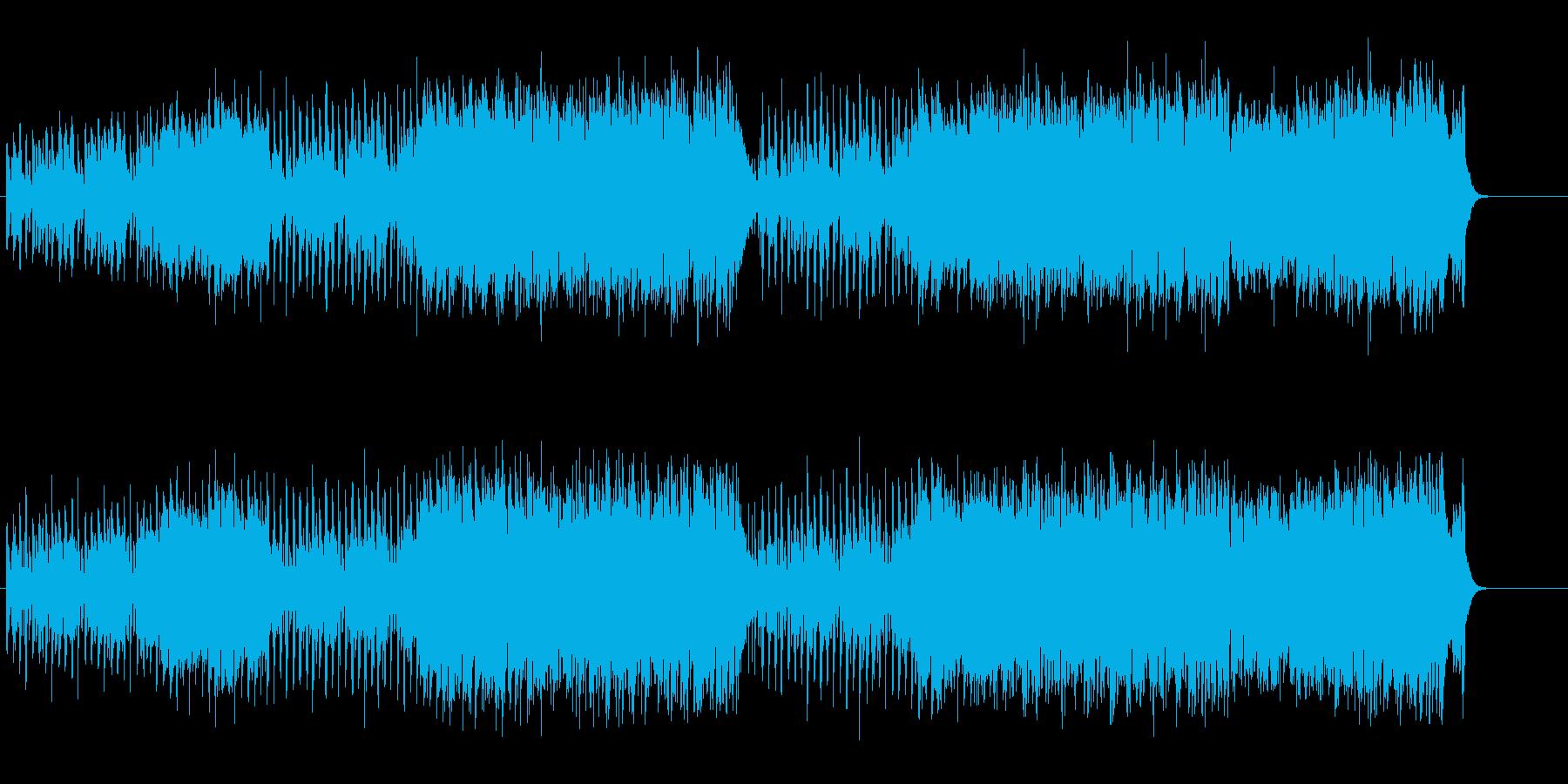 ユーモアとウィットに富んだキテレツの再生済みの波形