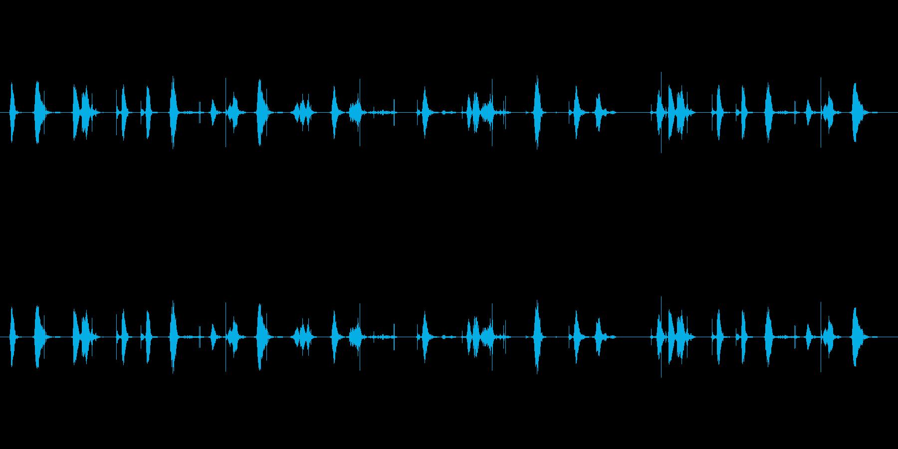【シャープペン01-01(書く)】の再生済みの波形