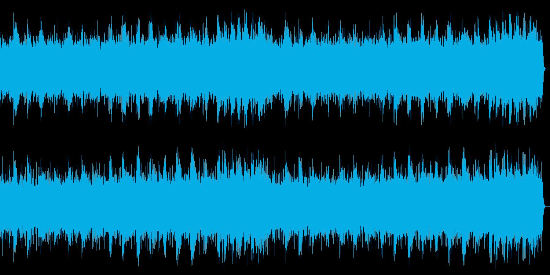 「気泡」をイメージしたヒーリング系2の再生済みの波形