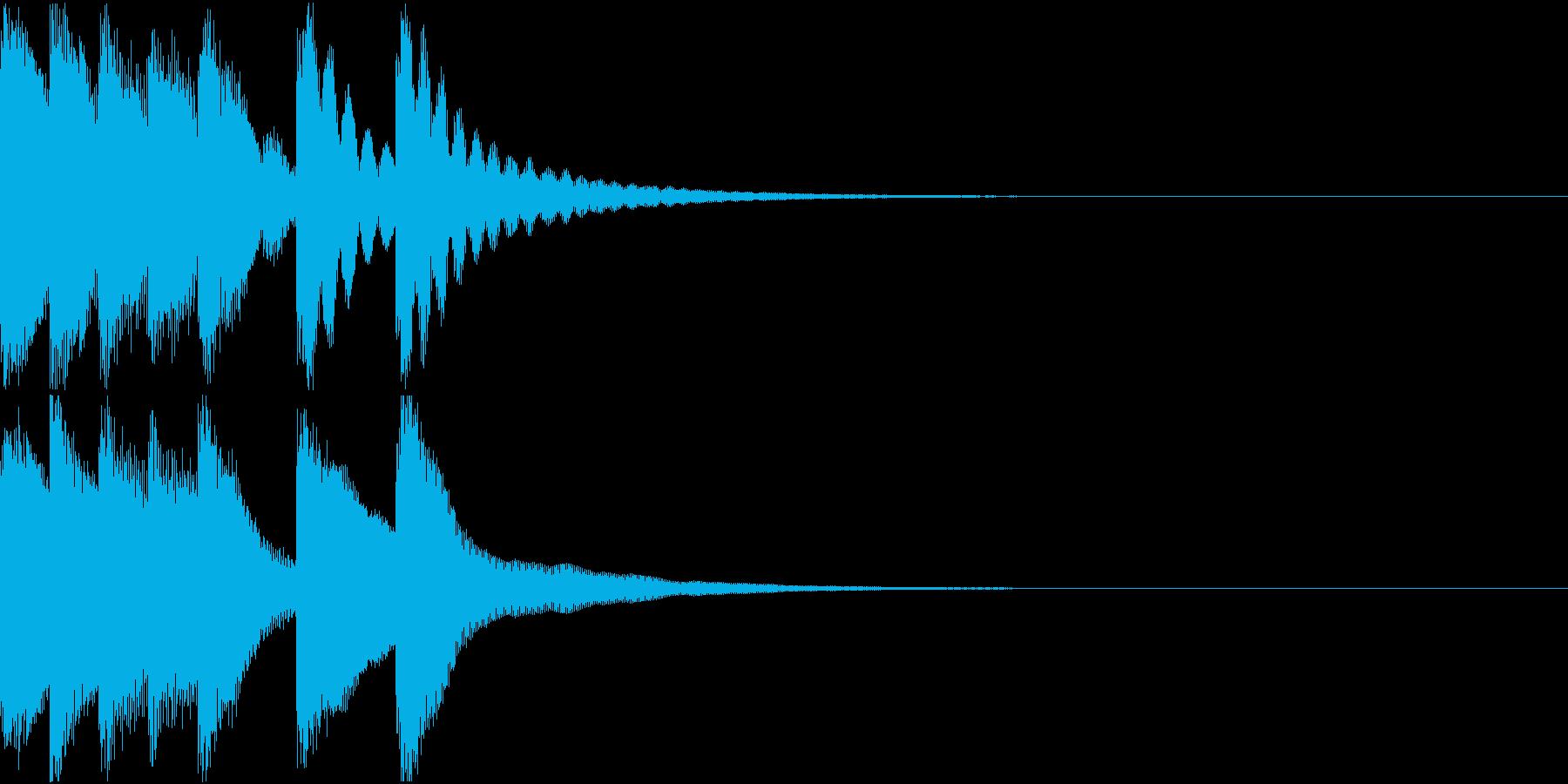 シンプル ベル チャイナ 中国風 18の再生済みの波形