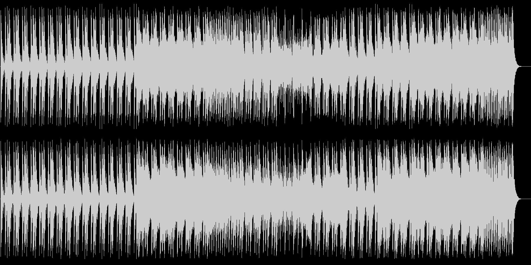 ワクワク感のある和風弦楽器シンセサウンドの未再生の波形