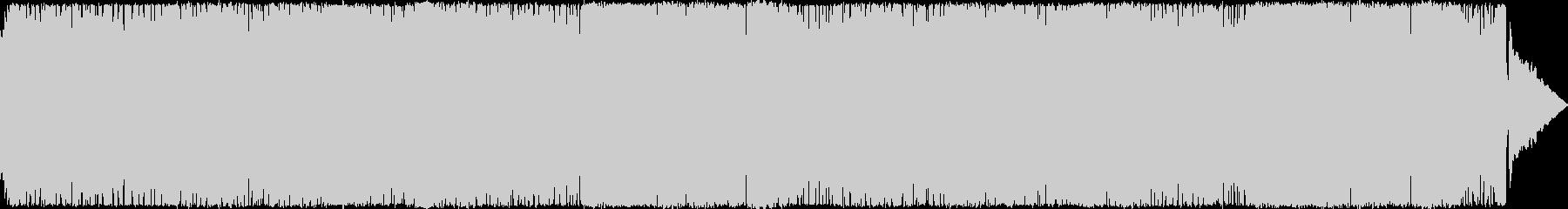 【バトル】テンポの速い戦闘向けのロックの未再生の波形