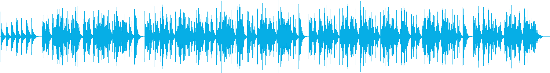 ほんわかオルゴールの再生済みの波形