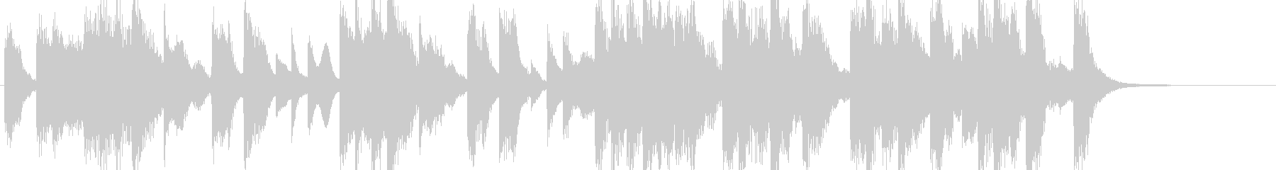 和風琴ストリングス企業VPやCM用BGMの未再生の波形