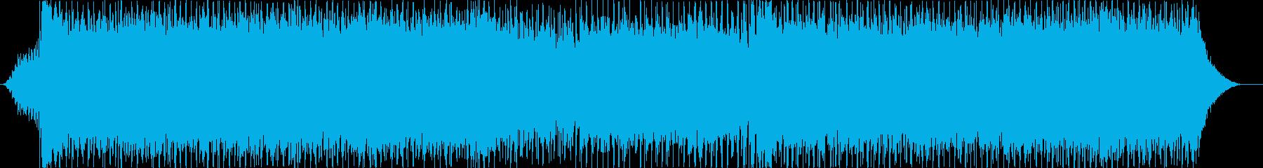 安定感のあるストレートなロックの再生済みの波形