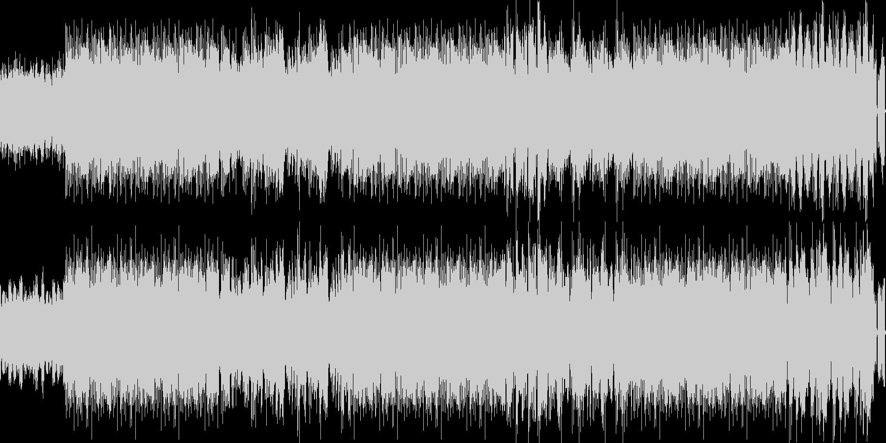 緊張感のあるRockテクノサウンドの未再生の波形