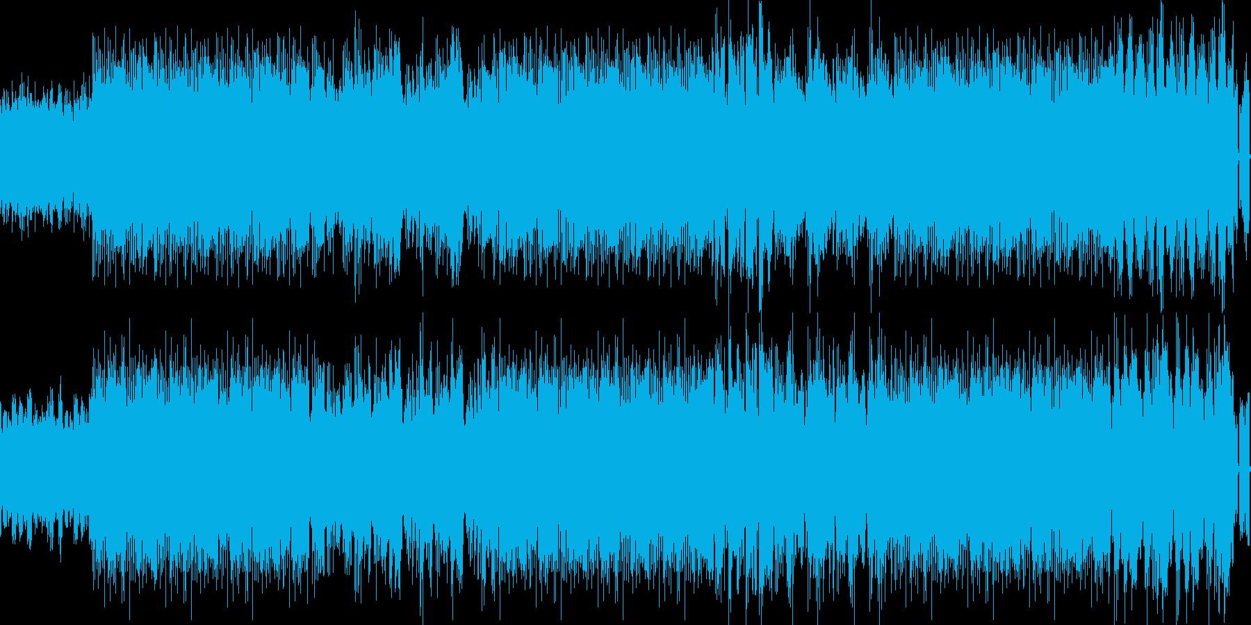 緊張感のあるRockテクノサウンドの再生済みの波形
