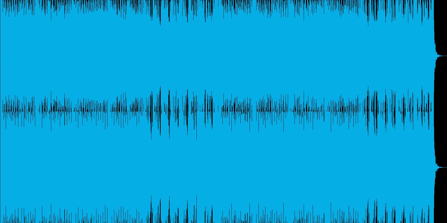 ゲームのセレクト画面を想定したテクノ系…の再生済みの波形