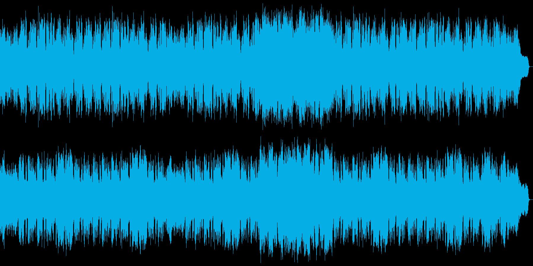 センチメンタルで爽やかな感じのフルート曲の再生済みの波形